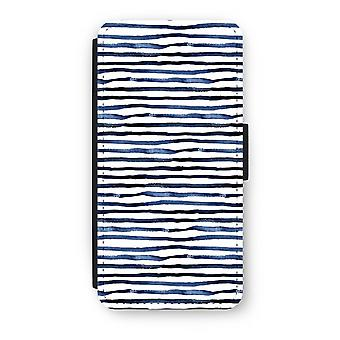 iPhone 6/6 s Plus Case Flip - surprenant des lignes