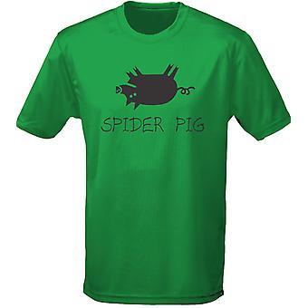 Spider Pig Mens T-Shirt 10 färger (S-3XL) av swagwear