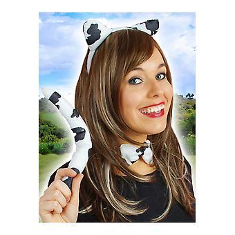 Set de accesorios del pelo de vaca