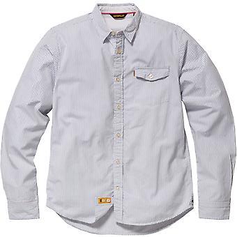 Chenille change Mens chemise à manches longues rayé