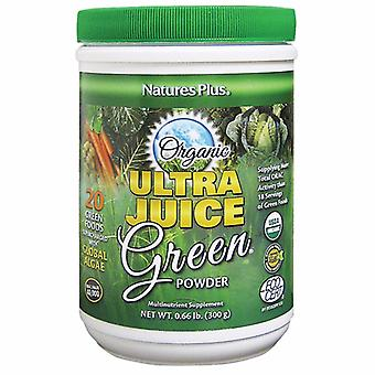 Natures Plus Ultra Juice Green Drink (organisk) 300 gram