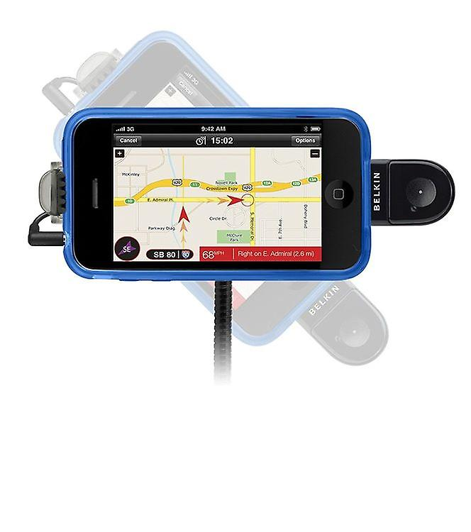 Belkin f8z442cwb TuneBase direct with hands-free kit for iPhone 4S 3 G iPod touch nano 2nd