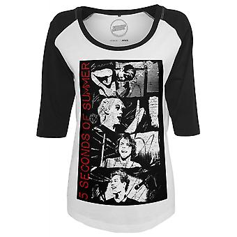 Urban classics ladies T-Shirt 5 seconds of summer stacked