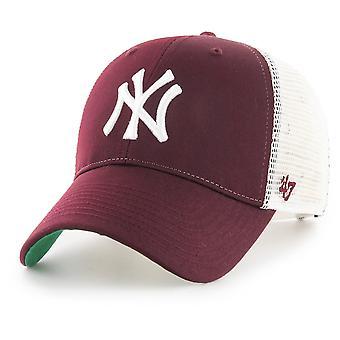 47 brand Snapback Cap - BRANSON New York Yankees maroon