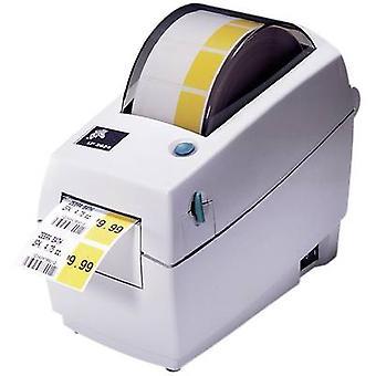 Zebra TLP 2824 Plus impressora de etiquetas transferência térmica 203 x 203 dpi máx. largura do rótulo: 60 mm USB, LAN