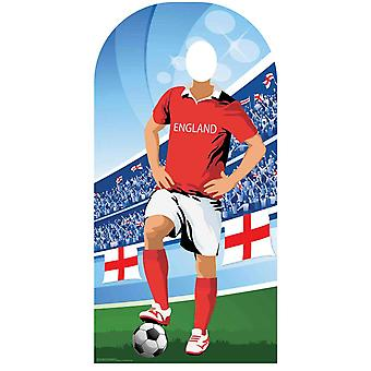 World Cup 2018 England Football Cardboard Cutout / Standee Stand-in