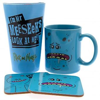 Rick And Morty Gift Set Mr Meeseeks