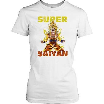 Super Saiyan - Dragon Ball - 80 Kids TV Montrer Mesdames T-shirt