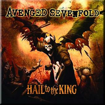 Avenged Sevenfold køleskab Magnet hagl til King nye officielle 76 mm x 76 mm