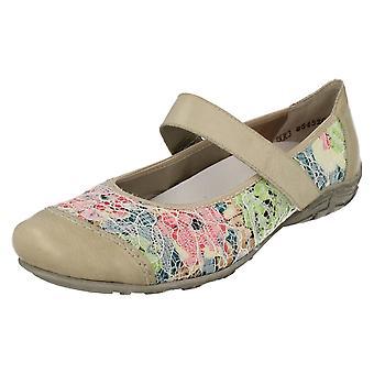 Damen Rieker flache Schuhe L2072