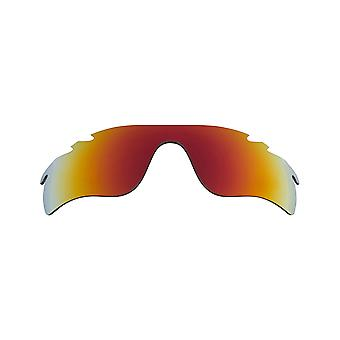 Replacement Lenses & Kit for Oakley Vented Radarlock Path Red Mirror & Brown Anti-Scratch Anti-Glare UV400 by SeekOptics