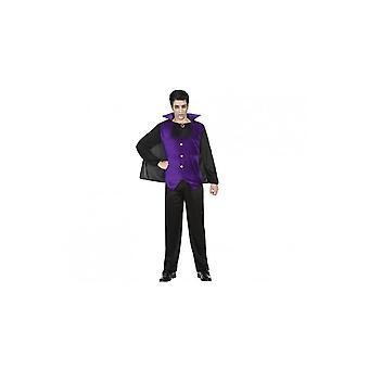 Mænd kostumer vampyr-kostume lilla for mænd