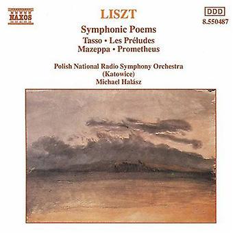 F. Liszt - Liszt: symfoniske dikt [DVD] USA import