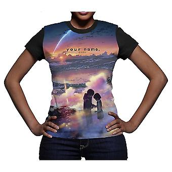 Your Name Girlie T-Shirt Tramonto
