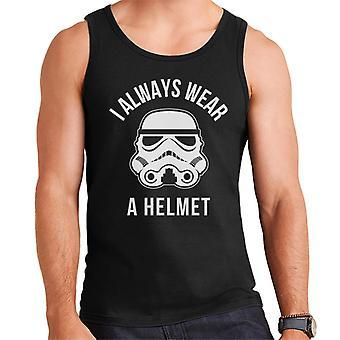 Ursprungliga Stormtrooper jag alltid bära en hjälm mäns väst