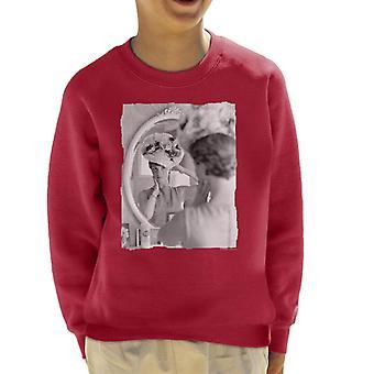 TV Times Julie Andrews Floral Hat Kid's Sweatshirt