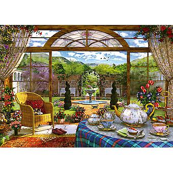 Schmidt Dominic Davison: View Of The Conservatory Jigsaw Puzzle (1000 Pieces)