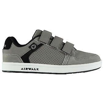 Airwalk Kinder Brock Childrens Skate Schuhe Jungs lässig Faux Wildleder Finish Trainer