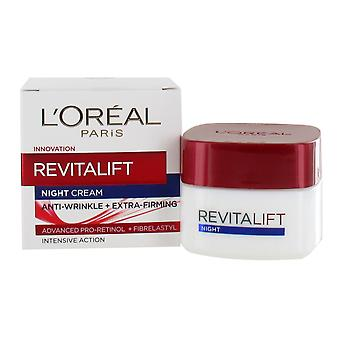 L'Or�al Paris Dermo-Expertise Revitalift Night Cream Anti-Wrinkle Plus Firming 50ml