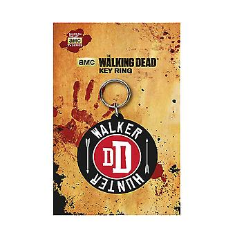The Walking Dead Keyring Key Chain Darly Walker Hunter new Official AMC Rubber