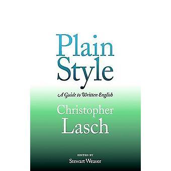 Modèle plat - un Guide pour rédiger en anglais par Christopher Lasch - Stewar