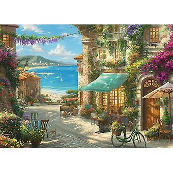 Gibsons Kinkade italienischen Cafe Jigsaw Puzzle (1000 Teile)