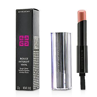 Givenchy Rouge Interdit Vinyl Extreme Shine Lipstick - # 01 Nude Ravageur - 3.3g/0.11oz