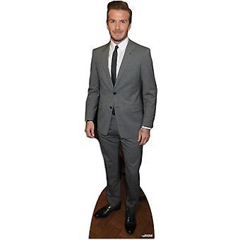 David Beckham - Suit Style Lifesize Cardboard Cutout / Standee