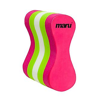 Maru Adult Pull Buoy - Multicoloured - Pink/Lime/White
