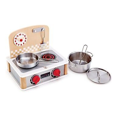 2-in-1 Kitchen & Grill Set Role-play cooking set