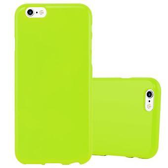 Cadorabo Hülle für Apple iPhone 6 / iPhone 6S Case Cover - Handyhülle aus flexiblem TPU Silikon – Silikonhülle Schutzhülle Ultra Slim Soft Back Cover Case Bumper