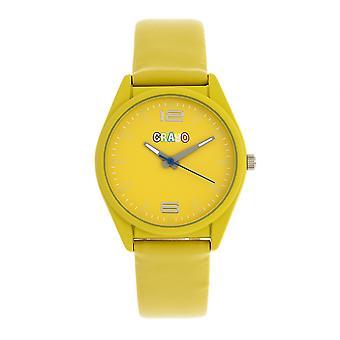 Crayo Dynamic Unisex horloge-geel