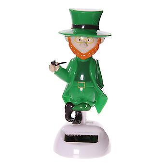 Puckator Novelty Solar Pal Ornament, Lucky Larry the Leprechaun