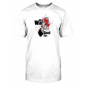 Wat oorlog is goed voor Mens T Shirt