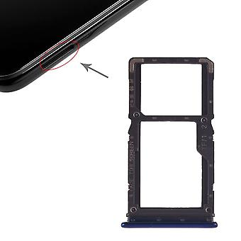 Vassoio di carta SIM per carte di Xiaomi Redmi nota 7 / Pro Halter Blau diapositiva titolare di ricambio