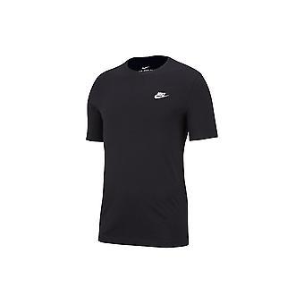 ナイキ クラブ AR4997013 普遍的なすべての年の男性 t シャツ