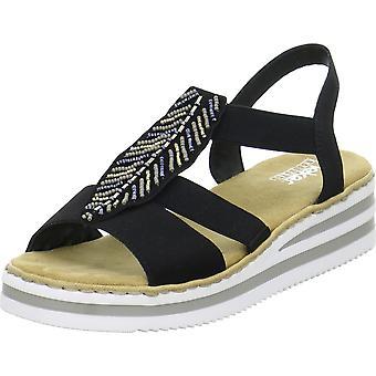 Rieker V02C1 V02C100 universellsommer dame sko