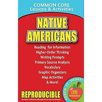 Native Americans - Common Core Lessons & Activities by Carole Marsh -