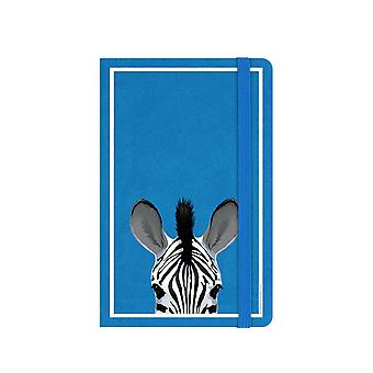 Inquisitive Creatures Zebra Notebook