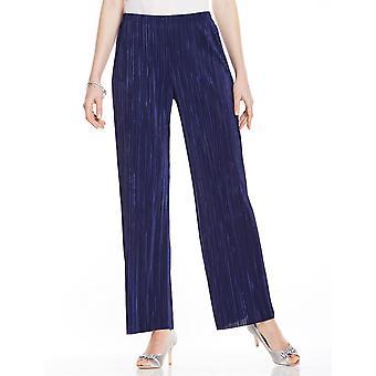 Chums Plain Plisse Trouser Flares
