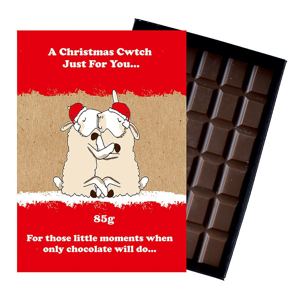 Funny Christmas Gift For Friend Boxed Chocolate Festive Xmas Present for Men Women XMS112