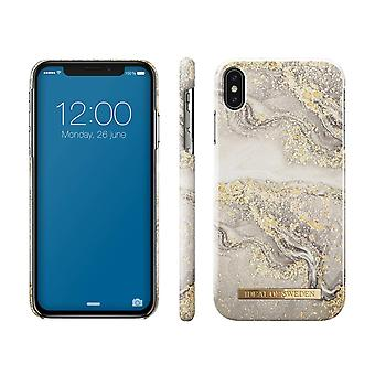 iDeal Of Sweden iPhone XS Max-Sparkle Greige Marble