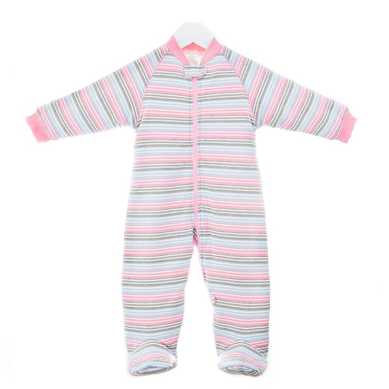 uh-oh! Baby Sleeping Bag with Legs 3.0 tog Warmth Rating Multi Pink Stripe