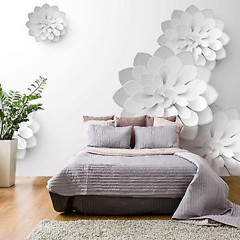 Artgeist Wallpaper White Garden (Decoration , Wall murals , Wall murals standard)
