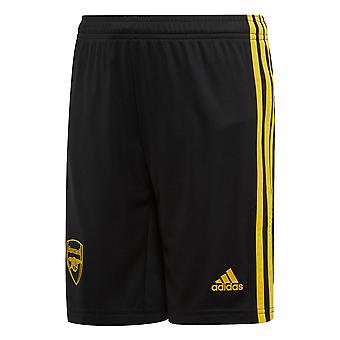 Adidas Arsenal 2019/20 lapset kolmas jalka pallo lyhyt musta/keltainen