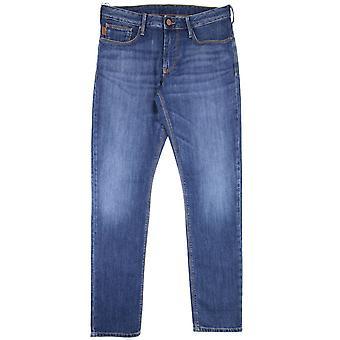 Emporio Armani Armani Jeans J06 Slim Jeans denim sininen 0941