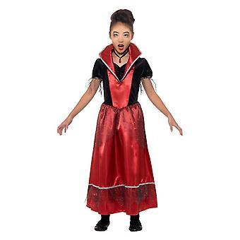 Tyttöjen vampyyri prinsessa Halloween Fancy mekko puku