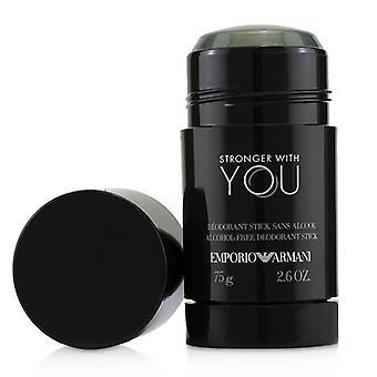 Giorgio Armani Emporio Armani starkare med dig Deodorant Stick-75g/2.6 oz