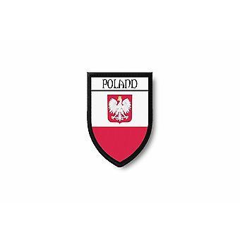 Patch Ecusson Edge brode flag udskriver Polen Polska polsk ørn