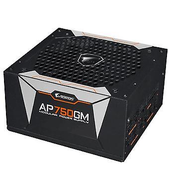 Gigabyte AP750GM AORUS 750W ATX PSU Power Supply 80 + Gold